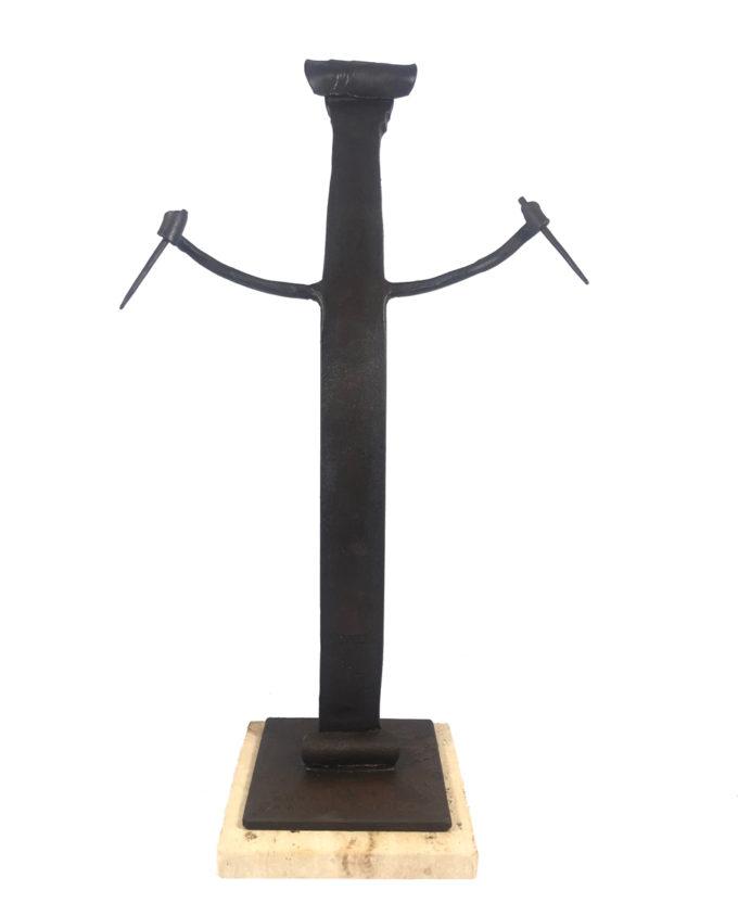 Banderillero escultura de forja del escultor Nono Martín