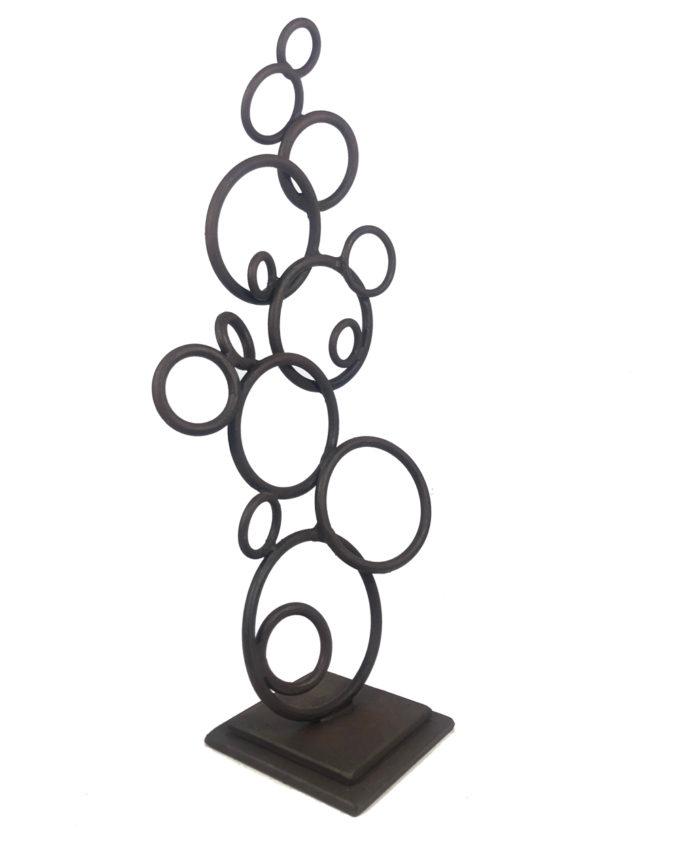 Escultura de forja Efervescencia del escultor Nono Martín